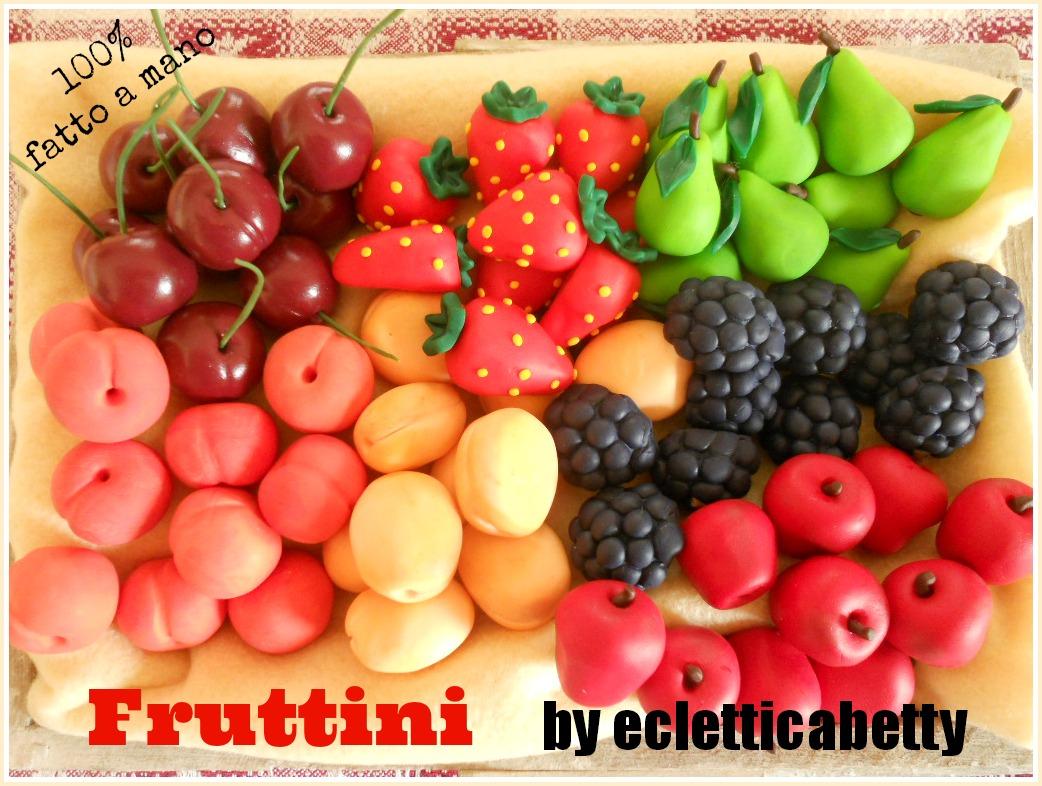 Fimo Fruttini 2 cm
