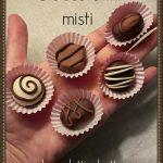 Cioccolatino ripieno con morso 2,5 cm