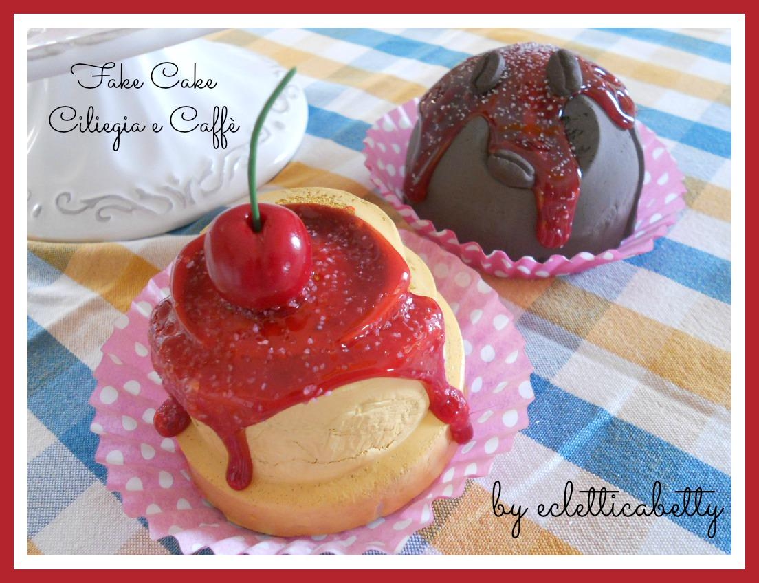 Fake Cake Ciliegia e Caffè