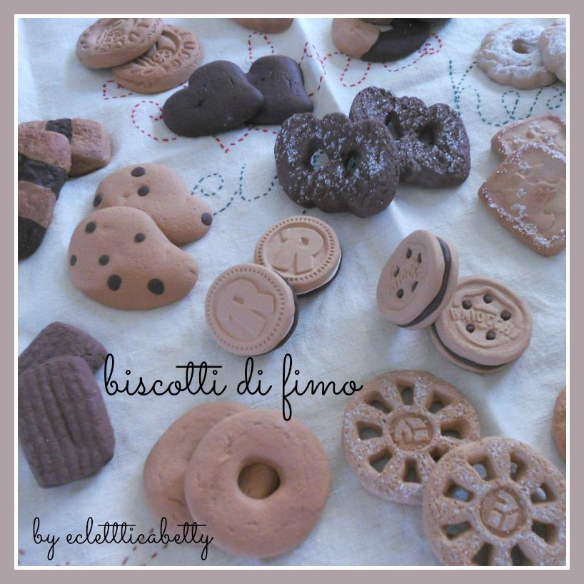 Fimo - biscotti misti