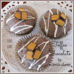 Toffee Chocolate Cupcake