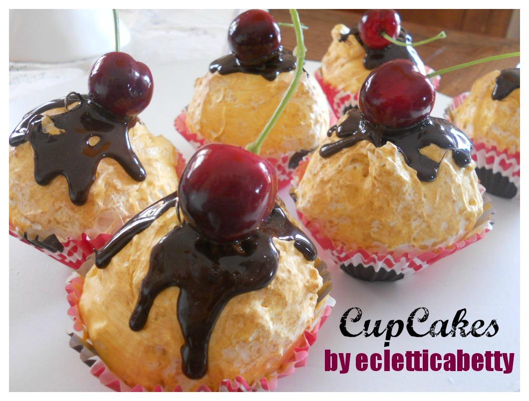 Cupcakes con ciliegie