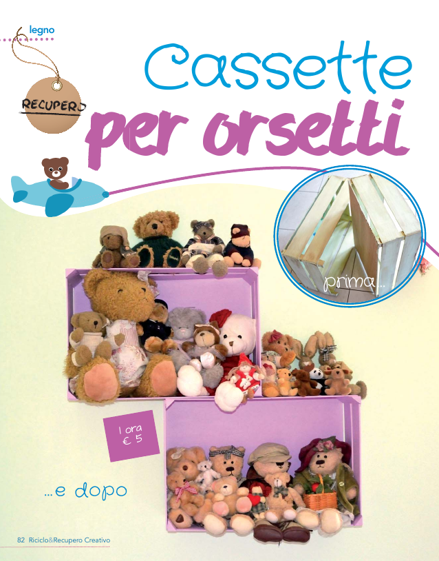 Cassette per orsetti 1