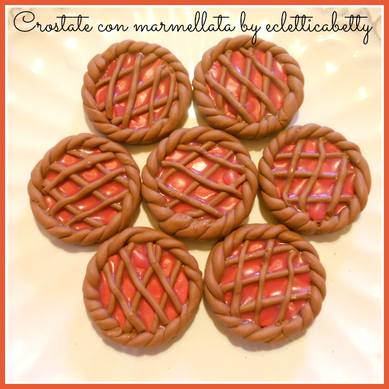 Torte Maxi crostate con marmellata