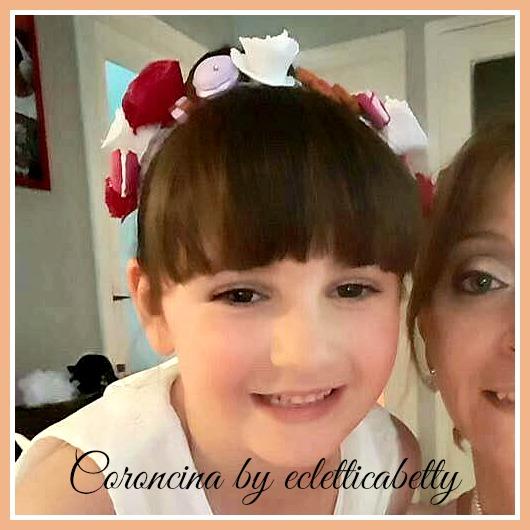 Bouquet e coroncina Arianna 3