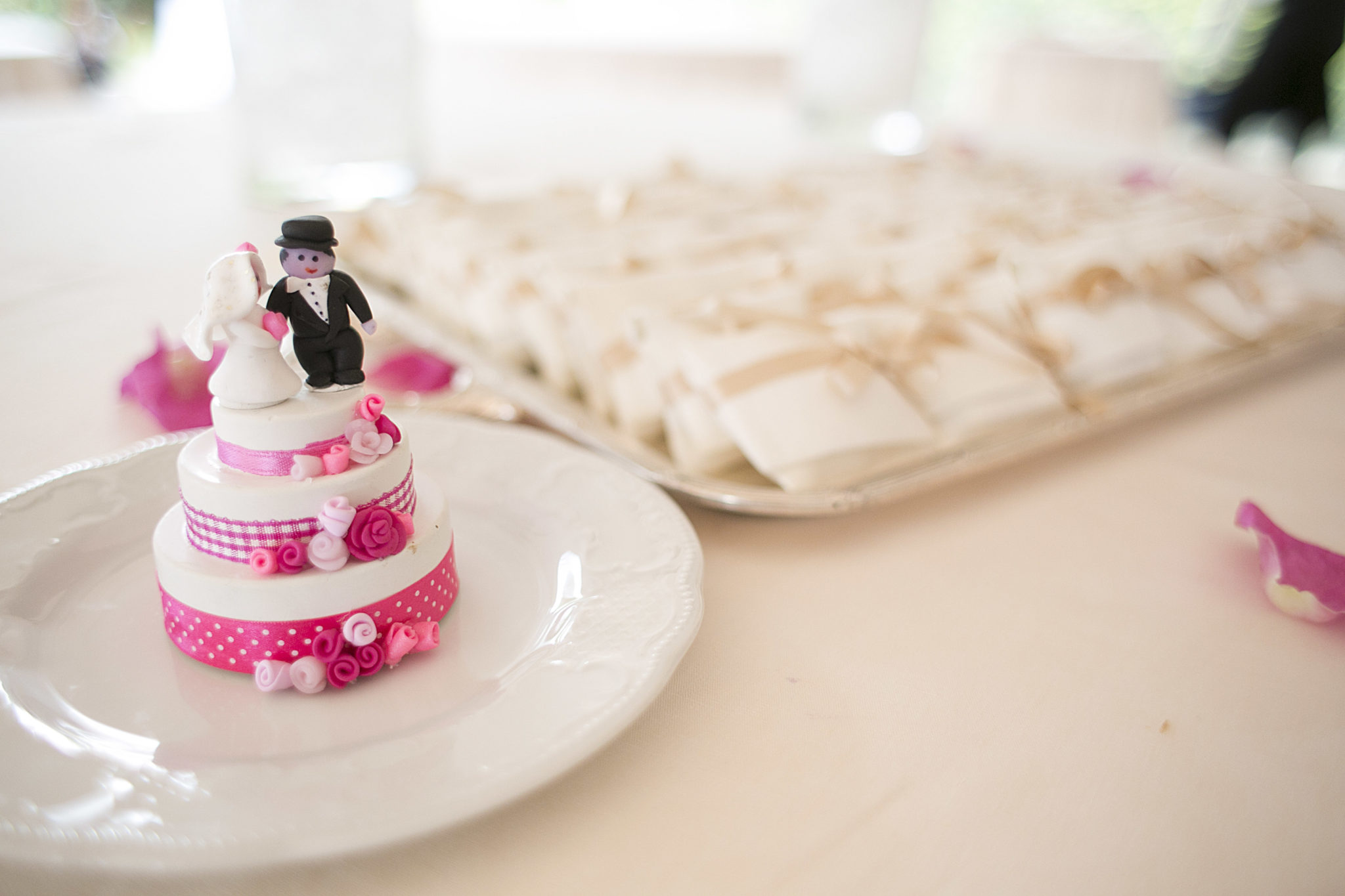 Michela matrimonio cake topper
