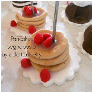 pancakes segnaposto