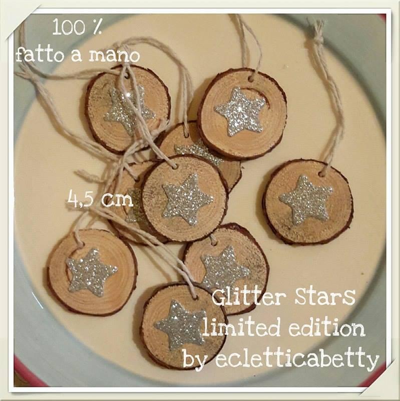 Glitter stars da appendere