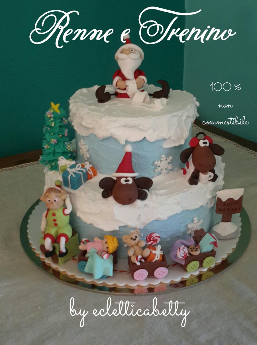 Torte Decorate Per Natale natale e decorazioni per la casa