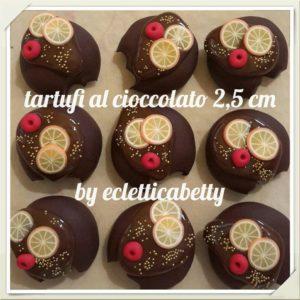Tartufo al cioccolato 2,5 cm