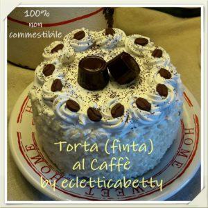 Torta panna e caffè 14 cm