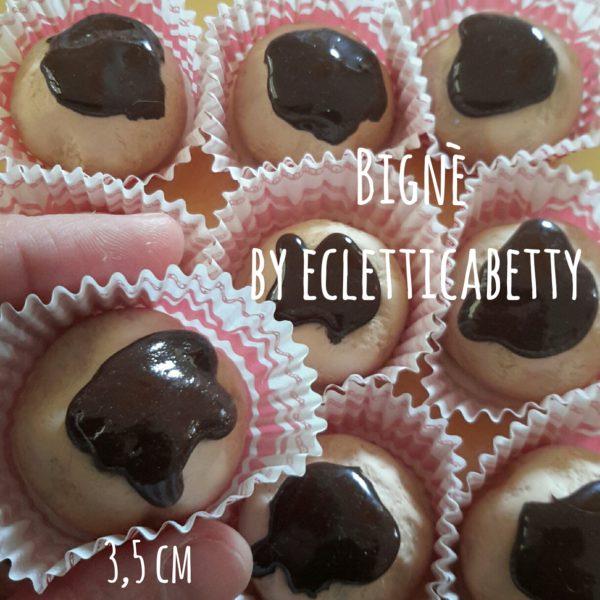Bignè al cioccolato 3,5 cm