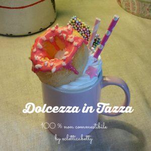 Dolcezza in tazza rosa