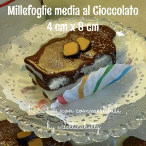 Millefoglie media al cioccolato