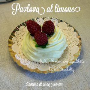 Pavlova al limone