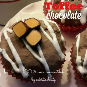 Toffee Chocolate Cupcake