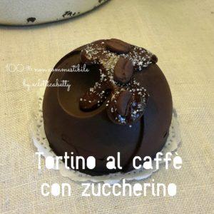 Tortino al caffè con zuccherino