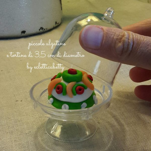 Alzatina per torte in miniatura