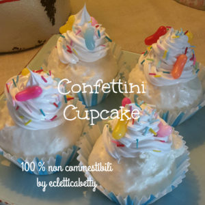 Beans Cupcake e codette di zucchero
