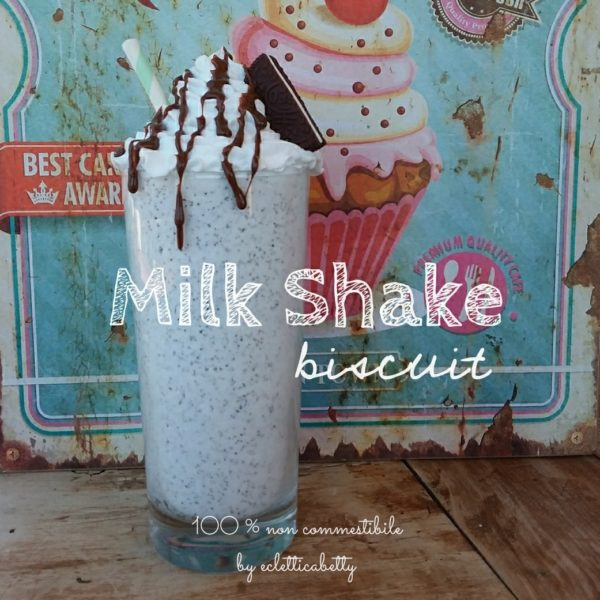 Milk shake Biscuit