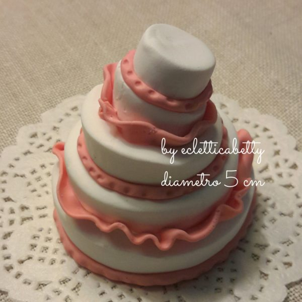 Wedding cake con gale 5 cm