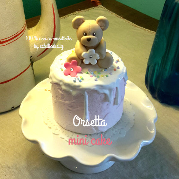 Orsetta mini cake