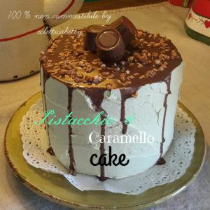 Pistacchio e Caramello cake 14 cm
