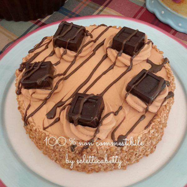 Pralinato al cioccolato fondente 15 cm