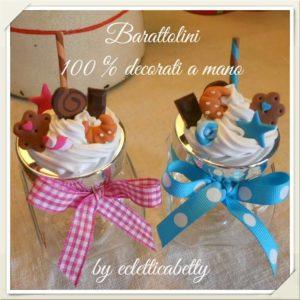 Barattolino panna e dolcetti piccoli – su ordinazione
