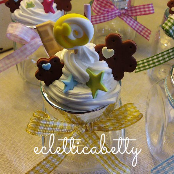 Barattolino panna e dolcetti Arcobaleno – su ordinazione