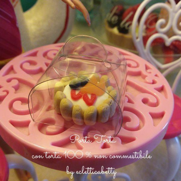Porta torta 3 x 3 cm per torta in miniatura