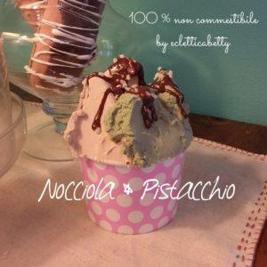 Coppetta gelato Nocciola e Pistacchio P rosa