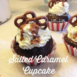 Cupcake salted caramel