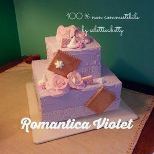 Romantica Violet Cake