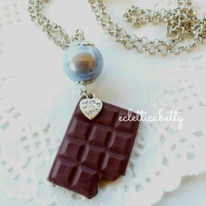 Ciocco Collana con perla argento