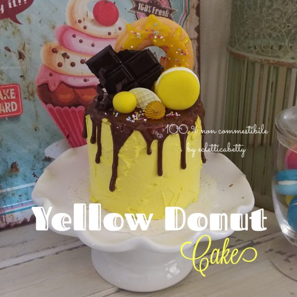 Yellow Donut Cake