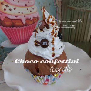 Choco Confettini cupcake