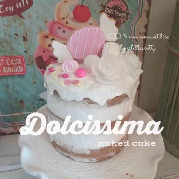 Dolcissima naked cake