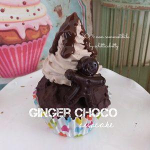 Ginger Choco cupcake