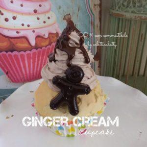 Ginger Cream cupcake
