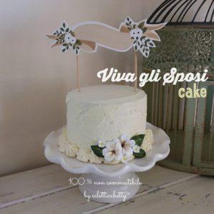 Viva gli Sposi Cake 16 cm
