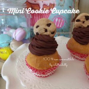 Mini Cookie Cupcake