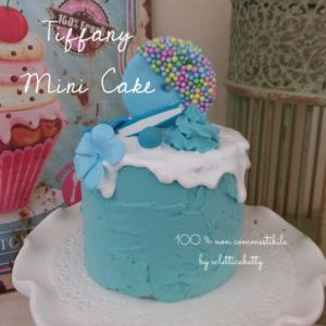 Tiffany mini cake