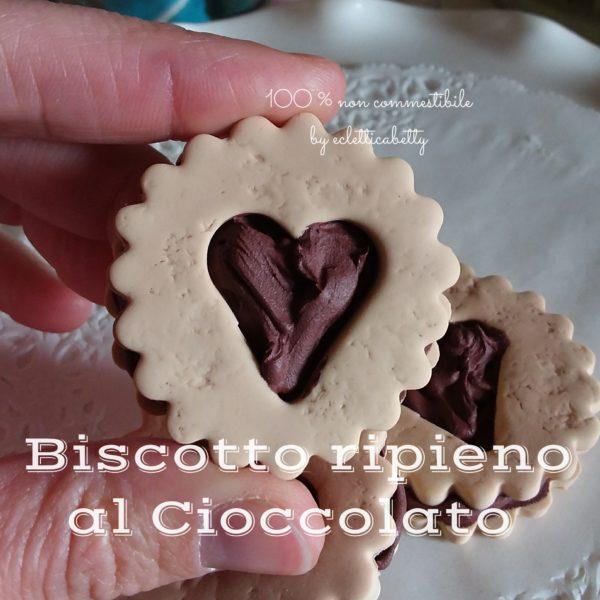 Biscotto ripieno al Cioccolato