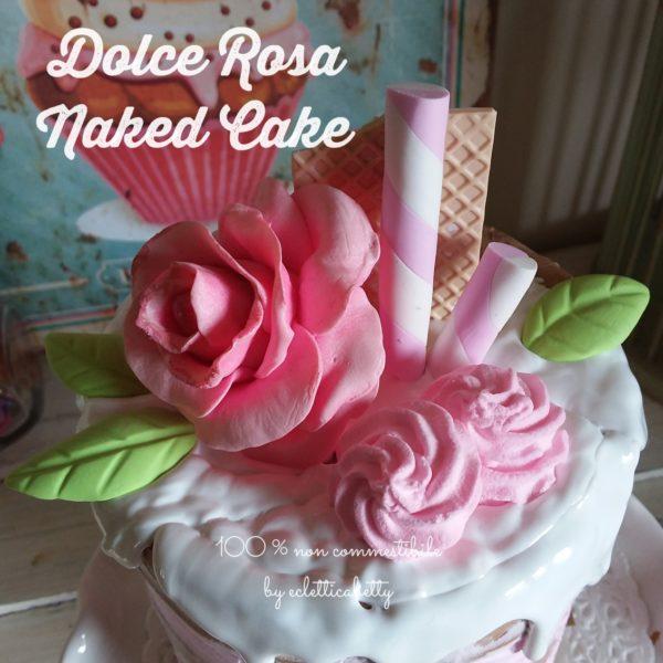 Dolce Rosa naked cake