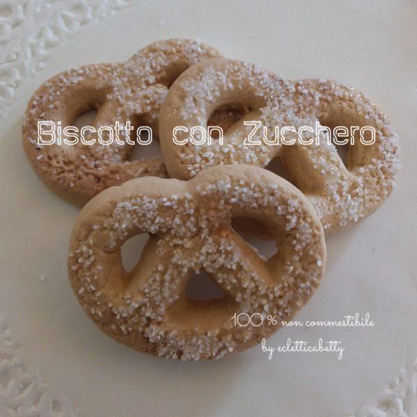 Biscotto con zucchero