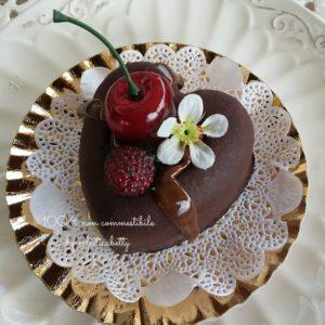 Cuore big con ciliegia e lampone