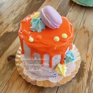 Tarte Macaron Arancio