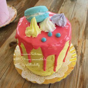 Tarte Macaron Rosa