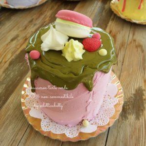 Tarte Macaron Verde